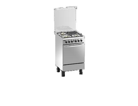 Markes  Batali Stainless Steel Finish Gas Range MRGS50 の画像