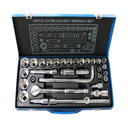 32-Piece Socket Set K0108 の画像