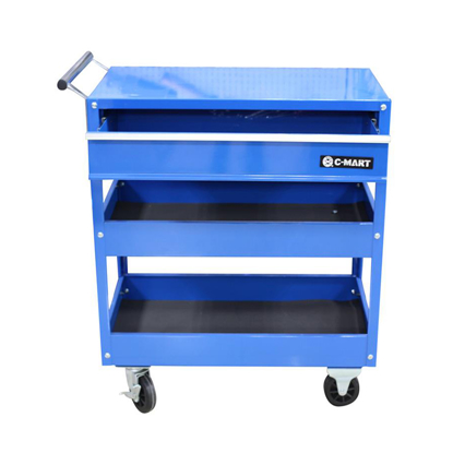 Picture of Three Layer Tool Trolley With Drawer L0054