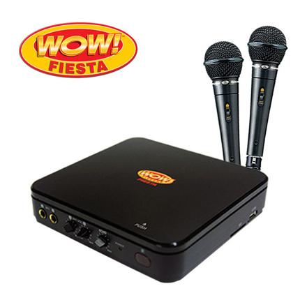 Wow Fiesta DVD Karaoke WF-220DVD の画像