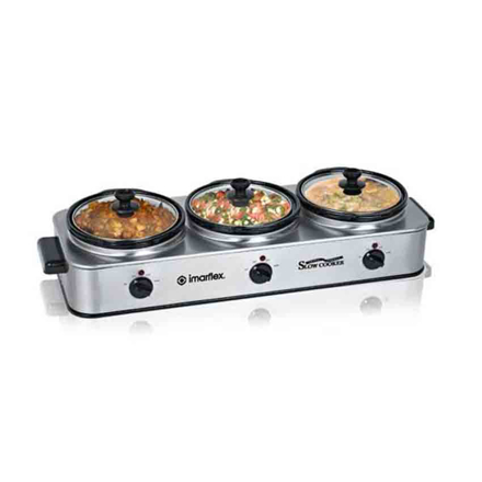 Triple Variety Slow Cooker ISC-325S の画像