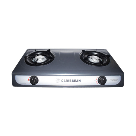 Caribbean Double Burner Gas Stove CEDB-2010의 그림