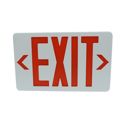 Exit Sign (Thermoplastic Housing) LED/X-202/R の画像