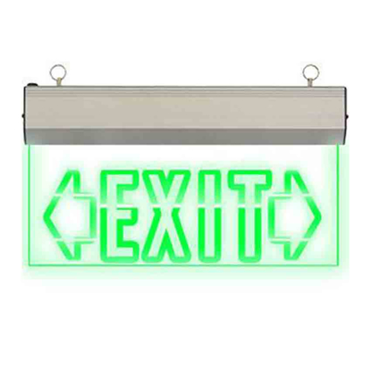 Picture of Exit Sign Double Arrow (Acrylic) LED/X-200/D