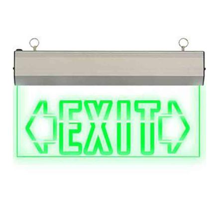 Exit Sign Double Arrow (Acrylic) LED/X-200/D の画像