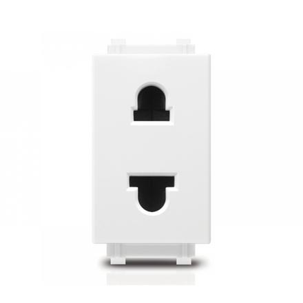 2P US-EU Socket Origami Style Simplex の画像