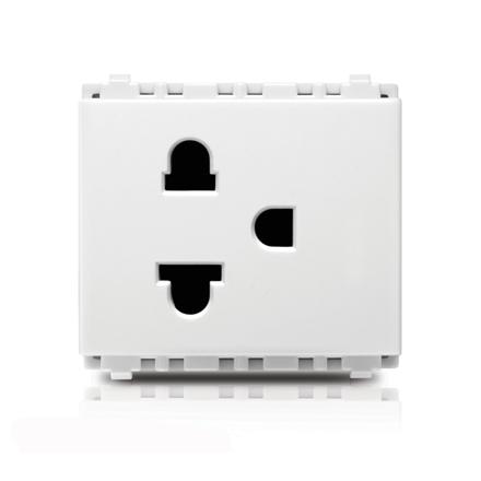 2P+E US-EU Socket Origami Style Simplex の画像