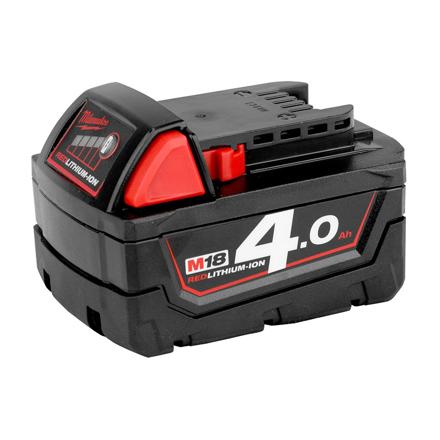 Battery Pack 4.0Ah Li-ion M18B4 の画像