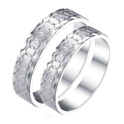 Picture of 925 Silver, Couple Ring- CS-022