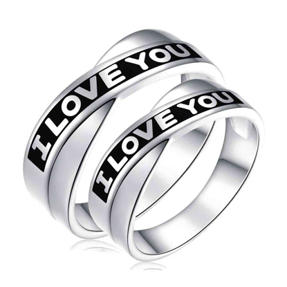 Picture of 925 Silver, Couple Ring- CS-025