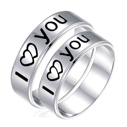 Picture of 925 Silver, Couple Ring- CS-026