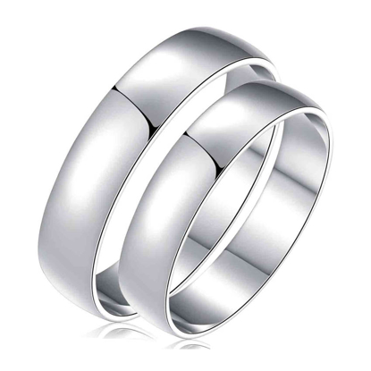 Picture of 925 Silver, Couple Ring- CS-029