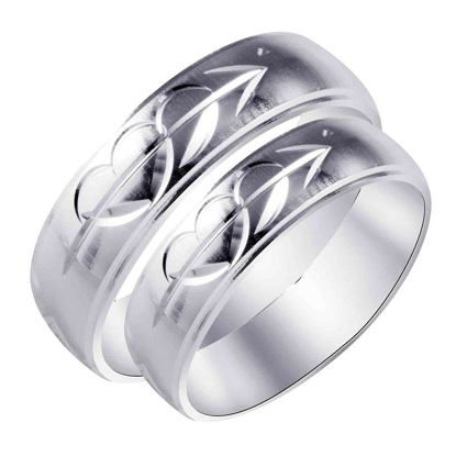 Picture of 925 Silver, Couple Ring- CS-038