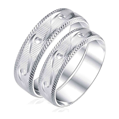 Picture of 925 Silver, Couple Ring- CS-042