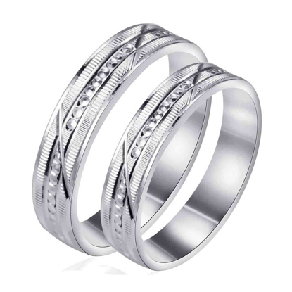 Picture of 925 Silver, Couple Ring- CS-045