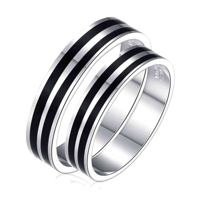 Picture of 925 Silver, Couple Ring- CS-050