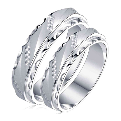 Picture of 925 Silver, Couple Ring- CS-051
