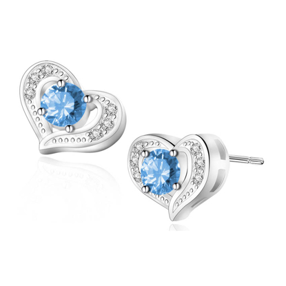 Picture of Birthstone Earrings- DS-015