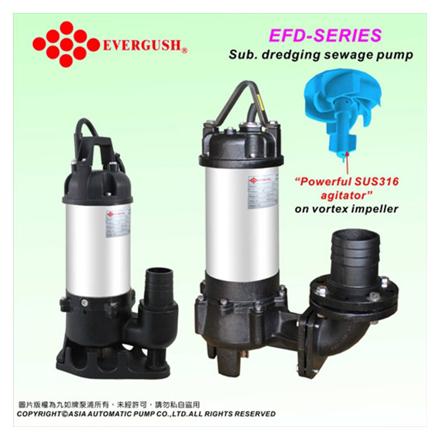 Submersible Dredging Sewage Pumps EFD-20의 그림