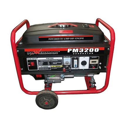 Gasoline Generator OHV Forced Air-Cooled 4-Stroke PM3200/PM3200ES의 그림