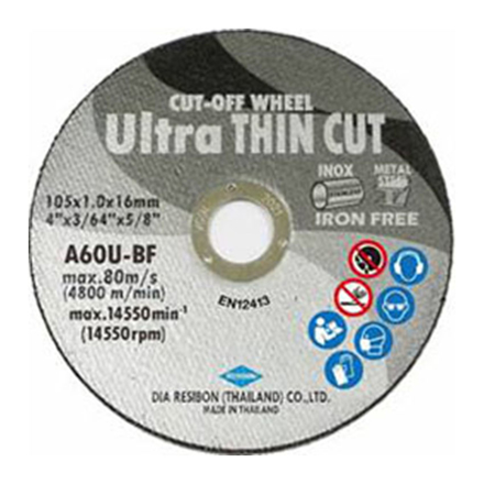 Cut-Off Wheel Ultra Thin UCOWS-105의 그림