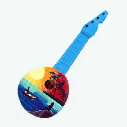 Picture of Handpainted Coco Ukulele- 0239-0065