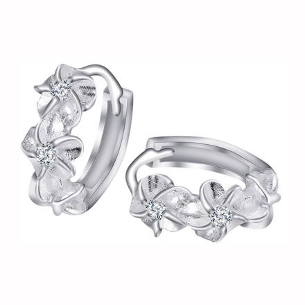 925 Silver Jewelry,Clip Earrings- ER-473 の画像