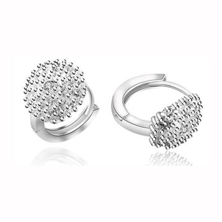 925 Silver Jewelry,Clip Earrings- ER-476 の画像