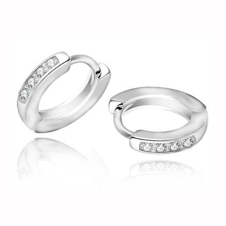 925 Silver Jewelry,Clip Earrings- ER-478 の画像