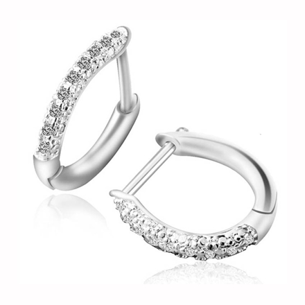 925 Silver Jewelry,Clip Earrings- ER-486 の画像