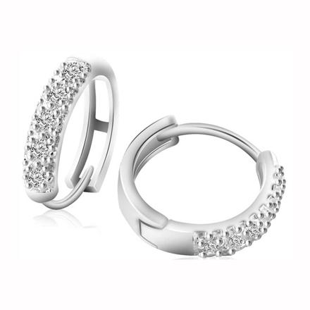 925 Silver Jewelry,Clip Earrings- ER-492 の画像
