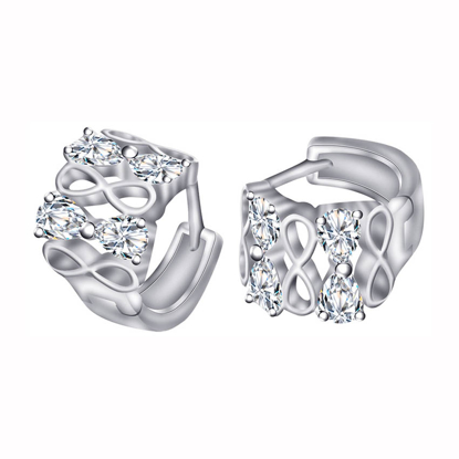 Picture of 925 Silver Jewelry,Clip Earrings- ER-496