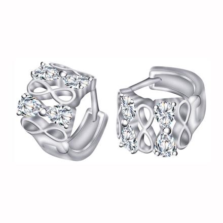 925 Silver Jewelry,Clip Earrings- ER-496 の画像