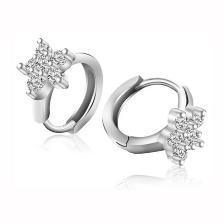 925 Silver Jewelry,Clip Earrings- ER-508 の画像