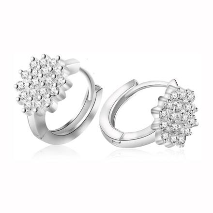 925 Silver Jewelry,Clip Earrings- ER-510 の画像