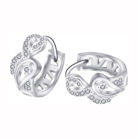 925 Silver Jewelry,Clip Earrings- ER-515 の画像