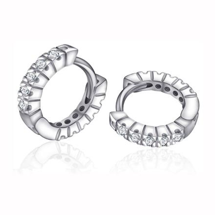 925 Silver Jewelry,Clip Earrings- ER-535 の画像
