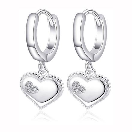 925 Silver Jewelry,Clip Earrings- ER-536 の画像