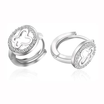 925 Silver Jewelry,Clip Earrings- ER-538 の画像