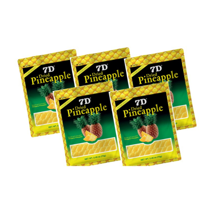 7D Dried Pineapple (70g) Pack of 5Pcs の画像