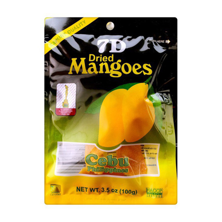 7D Dried Mangoes , Cebu 7D Dried Mangoes ( 100 grams) の画像