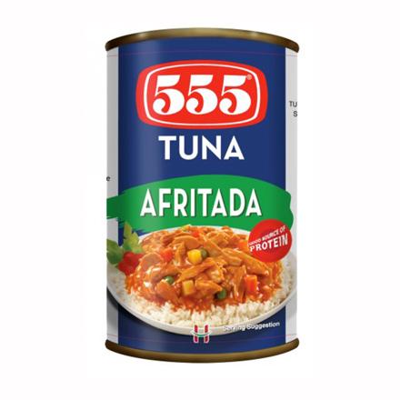 555 Tuna Afritada 155g の画像