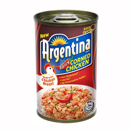 Argentina Corned Chicken Spicy 150g の画像