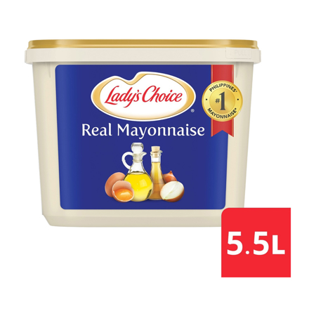 Lady's Choice Real Mayonnaise 5.5L の画像
