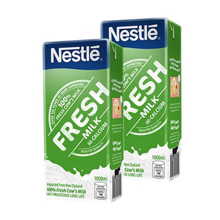 Nestle Fresh Milk 1L (Pack of 2)의 그림