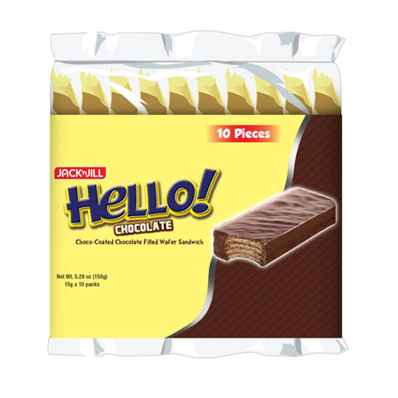 HELLO! Coated chocolate (10 x 15g) の画像