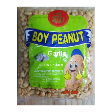 Boy Peanut,Boy Peanut Spicy ,Peanuts Garlic Flavors in 1 Kilo の画像
