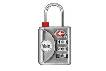 Yale Inspection indicator Luggage TSA Combination Lock - YTP1/32/119 の画像