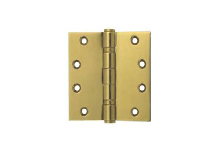 Yale 2 Ball Bearing Button Tipped Door Hinge 2BB 4x4X2 MM PVDB' の画像