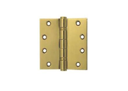 Yale 2 Ball Bearing Button Tipped Door Hinge 2BB 4x4X2 MM PVDB'의 그림
